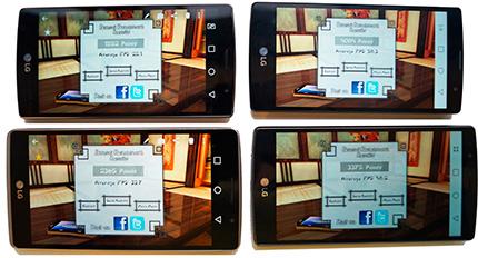 фото LG G4, LG G4s, LG G4c, LG G4 Stylus сравнение тест FPS
