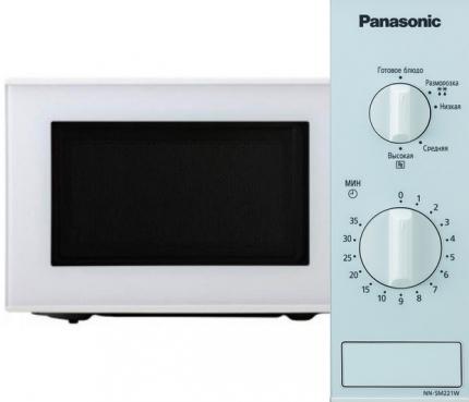 Panasonic NN-SM221W вид микроволновки
