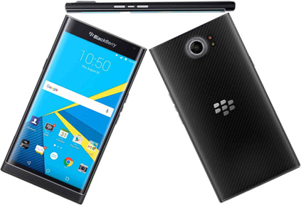 blackberry priv на android