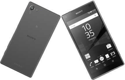 Xperia Z5 Compact с ошибками